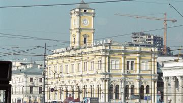 Источник: РИА Новости.  Ленинградский вокзал Москвы на несколько часов в четверг стал Николаевским.