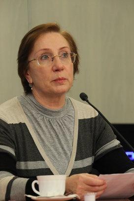 Галина Сахарова на онлайн-конференции