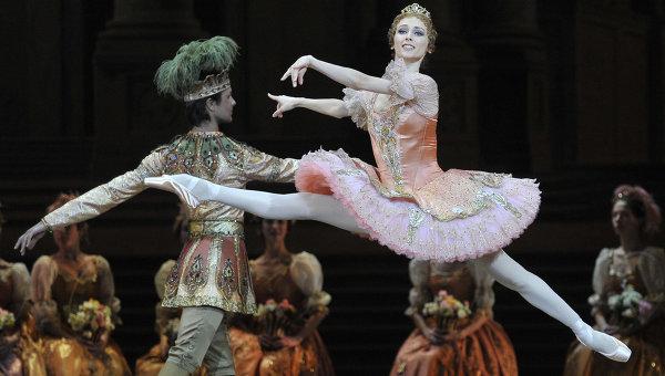"""Репетиция балета """"Спящая красавица"""" в Большом театре"""