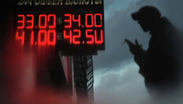 Средневзвешенный курс доллара 2012