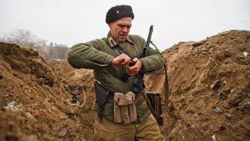 Военно-историческая реконструкция эпизода Сталинградской битвы
