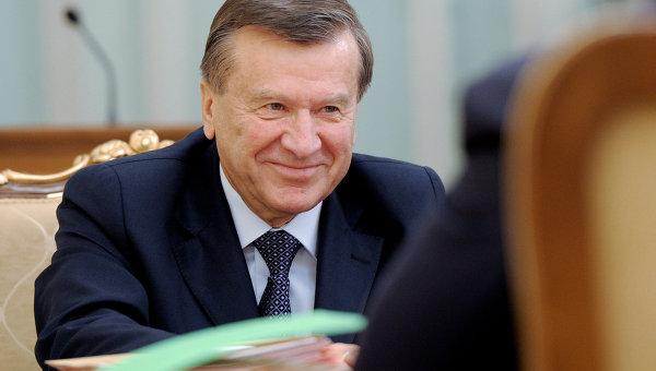 Виктор Зубков на заседании президиума правительства РФ