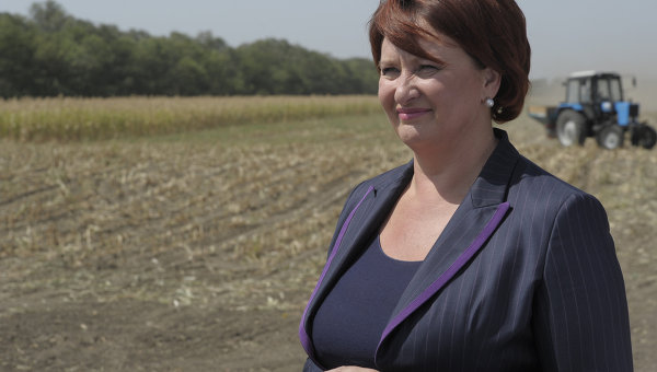 Министр сельского хозяйства РФ Елена Скрынник