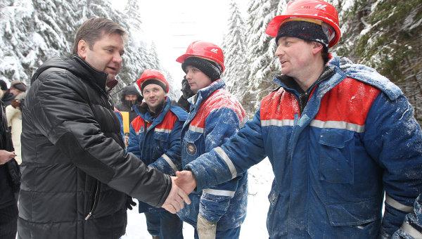 С. Шматко провел совещание в компании МОЭСК