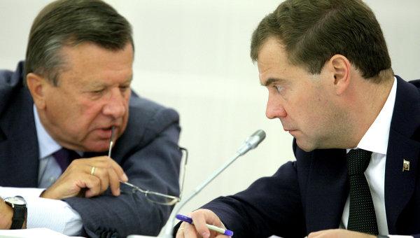 Президент РФ Д.Медведев провел совещание по финансовой устойчивости агропромышленного комплекса
