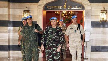 Наблюдатели ООН в Дамаске, Сирия