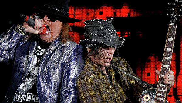 Концерт группы группы Guns N'Roses