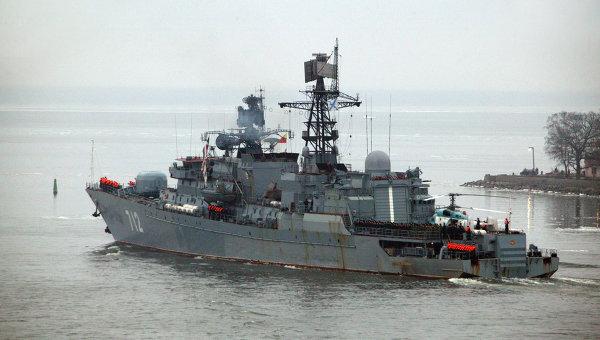 """Сторожевой корабль (СКР) Балтийского флота """"Неустрашимый"""""""