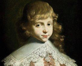 Портрет мальчика.  Франция, 17 век.  Коллекция Музея изобразительных искусств Нанта, Франция.  Холст, масло.