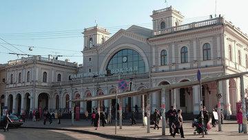 Движение поездов с Балтийского вокзала было надолго остановлено.